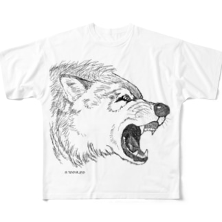 Don't touch me! Full graphic T-shirts