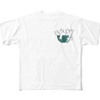 neko.in.don? Full graphic T-shirts
