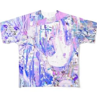 治癒天使 Full Graphic T-Shirt