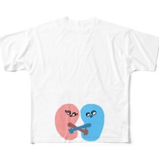 kid&ney Full graphic T-shirts