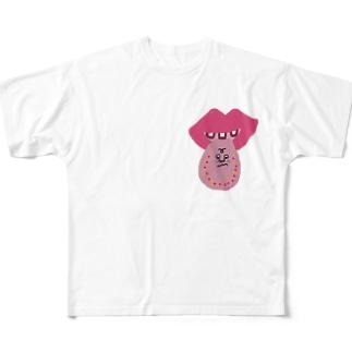 タンタン Full graphic T-shirts