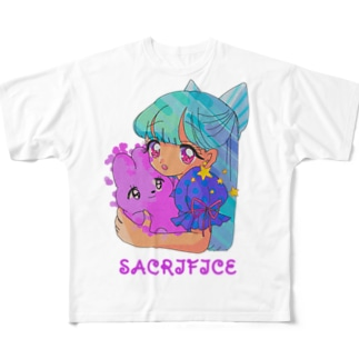 IKENIE★ Full graphic T-shirts