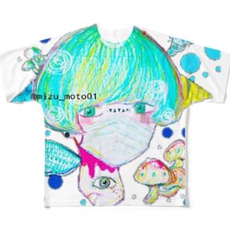 毒胞子 Full graphic T-shirts