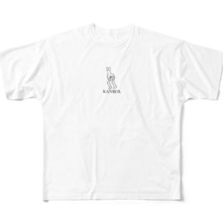 かんぼーる? Full graphic T-shirts