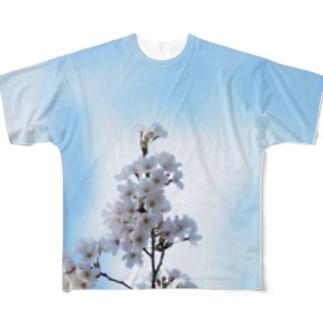 sakura 1 Full graphic T-shirts