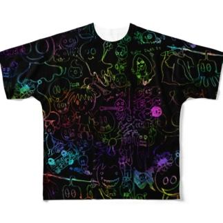 "my note ""gochagocha"" Full graphic T-shirts"