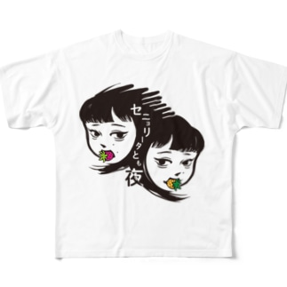 セニョ生誕記念グッズ Full graphic T-shirts