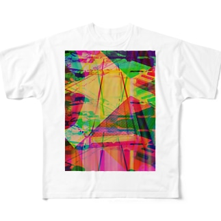 テープループ2 Full graphic T-shirts