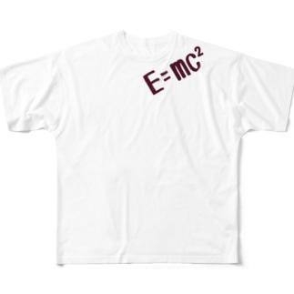 相対性理論Tシャツ Full Graphic T-Shirt