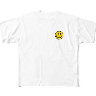 ニコちゃん Full graphic T-shirts