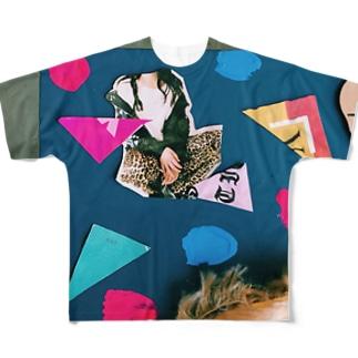 スクラップ ユア ハンズ Full graphic T-shirts
