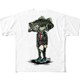 ブラックバス Full Graphic T-Shirt