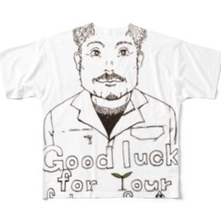 lifeworksのファーマー Full graphic T-shirts