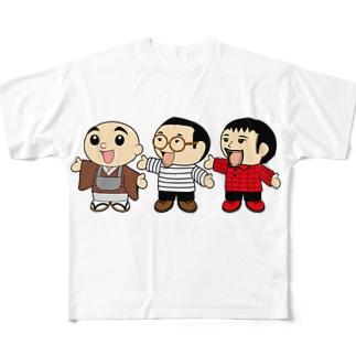 ちょっとかけこみナイト Full graphic T-shirts