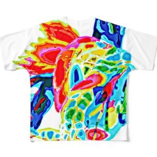 ある日の心 Full graphic T-shirts