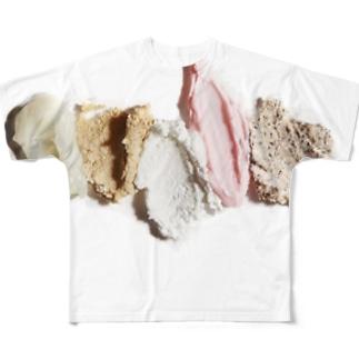 ヌリヌリ Full graphic T-shirts