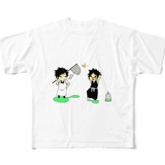 BLEACH   Full graphic T-shirts