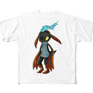 童貞を殺すヴィラン Full graphic T-shirts