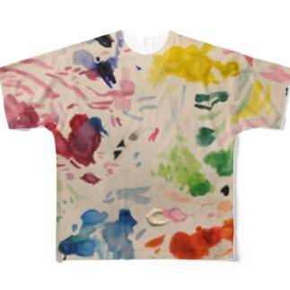 パレット Full graphic T-shirts