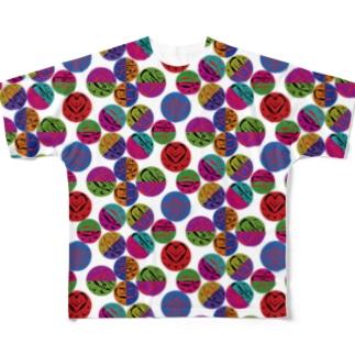 どってんどう Full graphic T-shirts