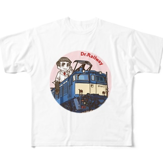 鉄道博士 EF63 Full graphic T-shirts