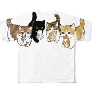 新しい家族を紹介します Full graphic T-shirts