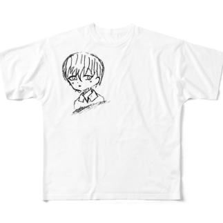 恋する瞳 Full graphic T-shirts