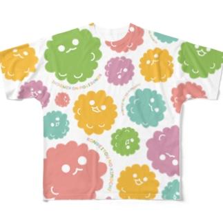 こんぺいとうのキモチ Full graphic T-shirts