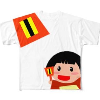 続よさこいナル子 Full graphic T-shirts