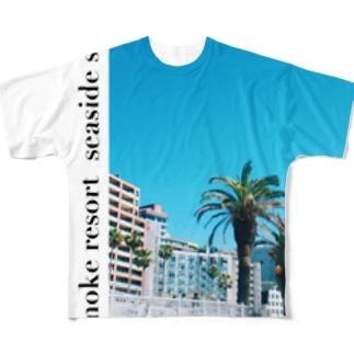 熱海 Full graphic T-shirts