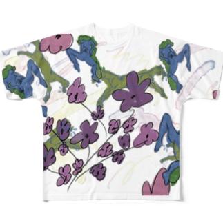 春の夢 Full graphic T-shirts