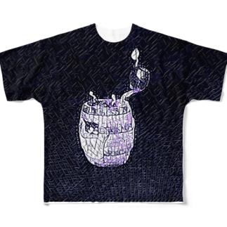 爆弾マン〜 Full graphic T-shirts