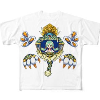 准胝観音 Full graphic T-shirts