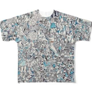 ごちゃごちゃ Full graphic T-shirts