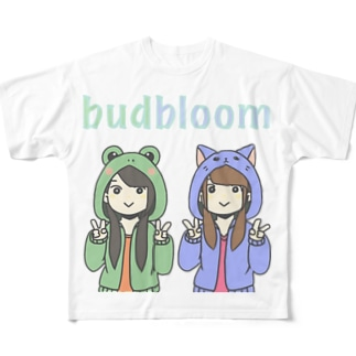 budbloomグッズ Full graphic T-shirts