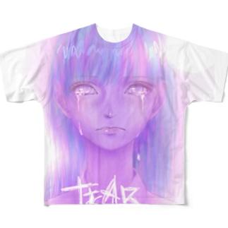 女の子 Full graphic T-shirts