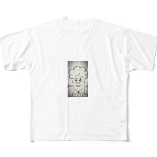 木の会社マン Full graphic T-shirts