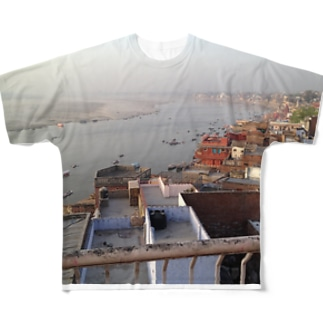ガンジスのHOTORI Full graphic T-shirts