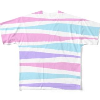 5月10日の模様2 Full graphic T-shirts