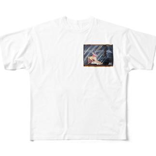 ピエタ Full graphic T-shirts