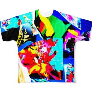 青が導き出した答え Full graphic T-shirts