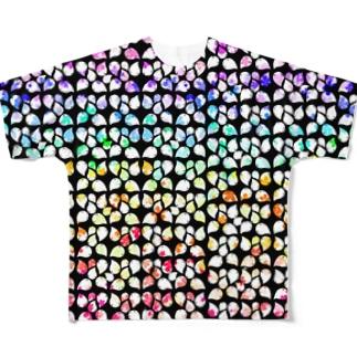 花咲くロクマル Full Graphic T-Shirt