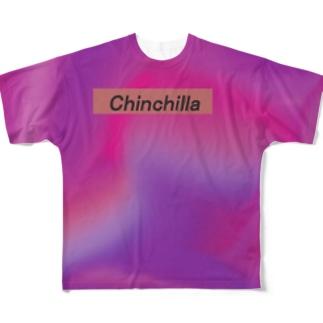 タイダイ チンチラ Full graphic T-shirts