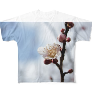 梅の花 Full graphic T-shirts