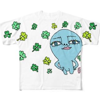 おしとやかな宇宙人~春の訪れ~ Full graphic T-shirts