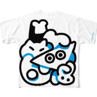 ワーッ Full graphic T-shirts