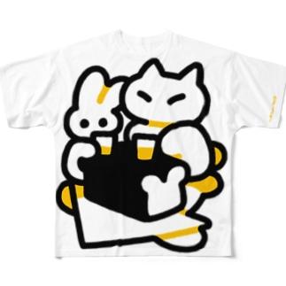 ヘウーッ Full graphic T-shirts