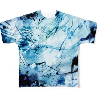 Blue Ocean Full graphic T-shirts