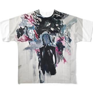 yohjiyamamoto Full graphic T-shirts
