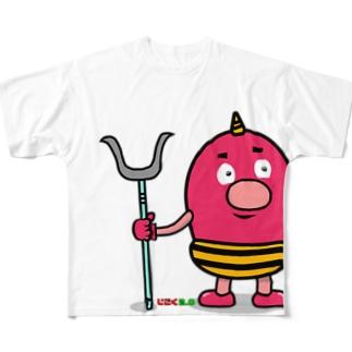 じごく2.0 赤鬼くん Full Graphic T-Shirt